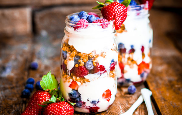Tooth healthy parfait