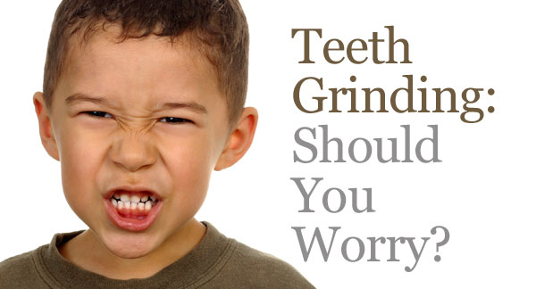 Teeth Grinding in kids, bruxism